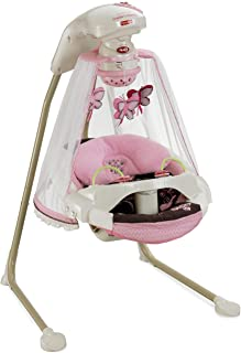 fisher price papasan butterfly cradle swing