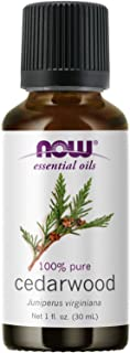 NOW Essential Oils, Cedarwood Oil, 1-Ounce