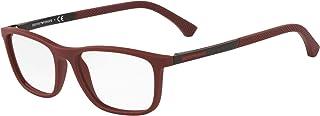 Emporio Armani EA 3069 Burgundy Rubber 55/17/140 men Eyewear Frame