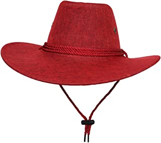 Unisex Adult Cotton Adjustable Cycling Cowboy Hat