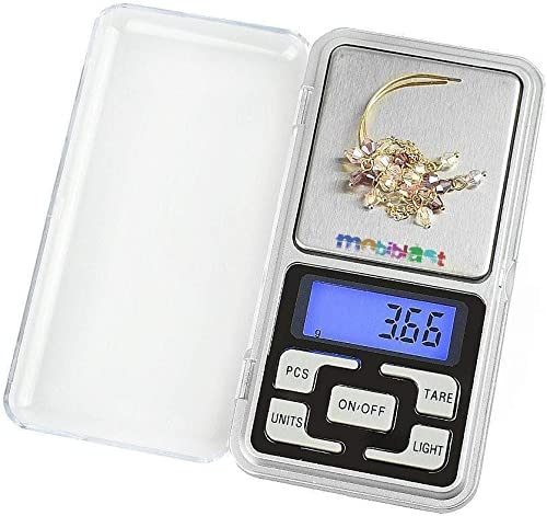 Eyelet Electronic Scale Multipurpose MH 200 LCD Screen Digital Electronic Portable Mini Pocket Scale Weighing Scale for Measuring Small Items 200g
