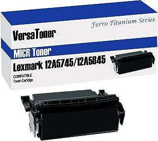 VersaToner - Lexmark 12A5845/12A5745 Black (MICR) - Toner Cartridge