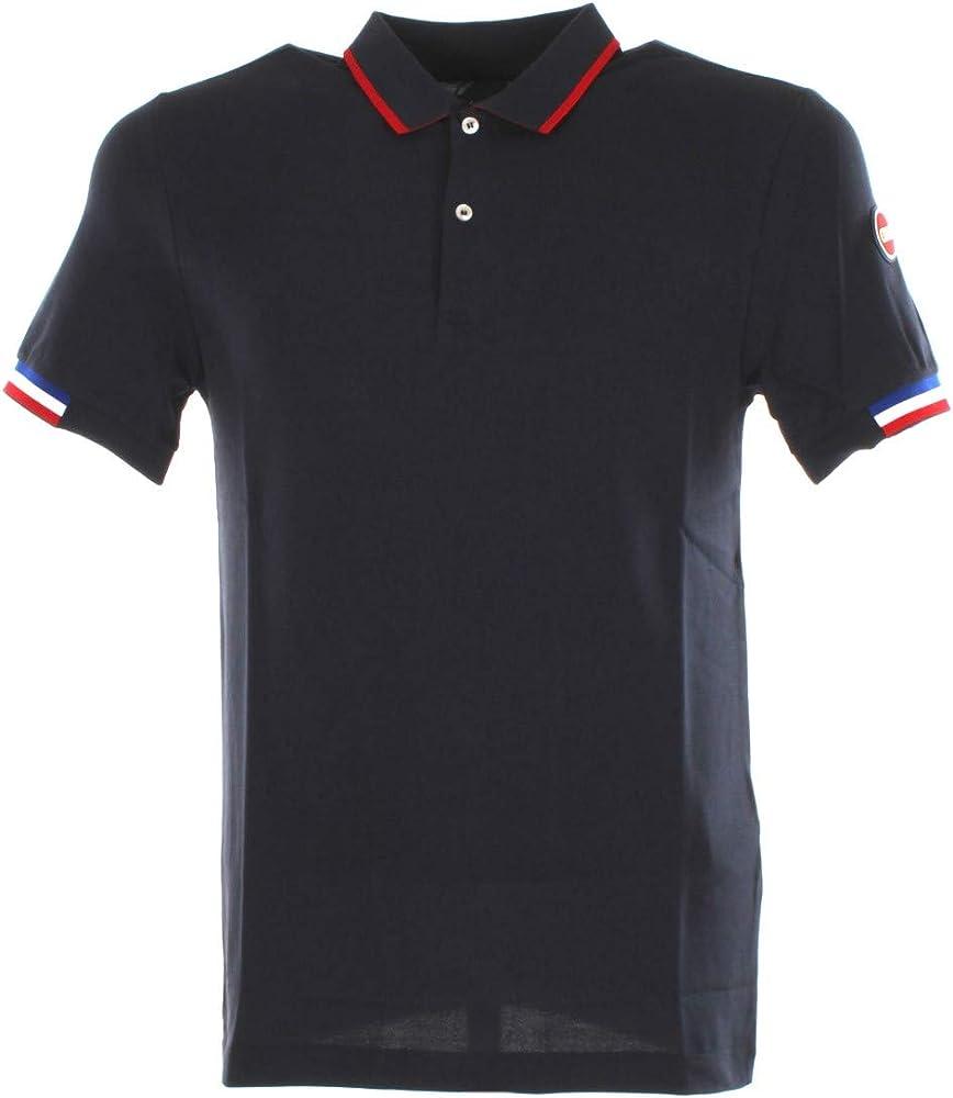 Colmar  monday polo,maglietta per uomo a maniche corte,96% cotone, 4% elastan 7658z 4sh 193