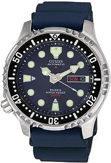 Reloj Analógico para Hombre de Automático con Correa en Plástico NY0040-17LE