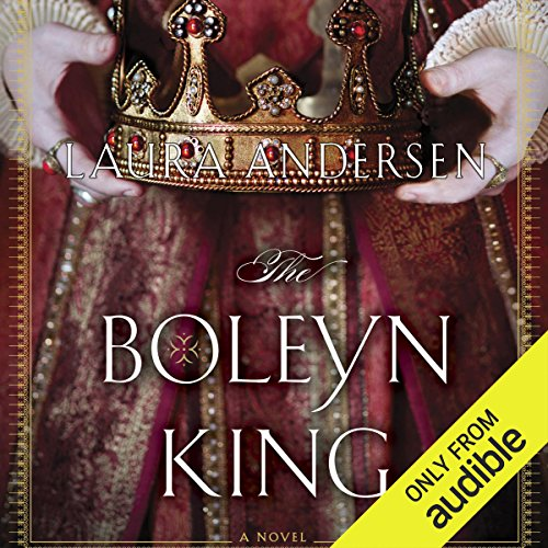 The Boleyn King audiobook cover art