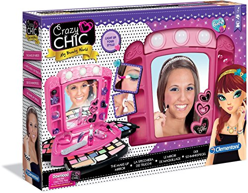 Clementoni - 15981.9 - Crazy Chick - Miroir de maquillage