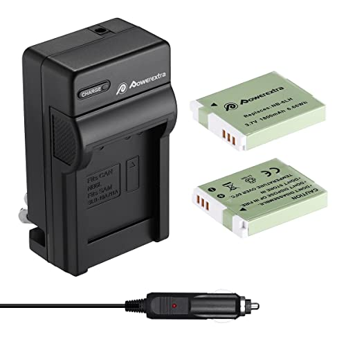 Ultrapro 4x NB6L//H Battery and Dual Charger for Select Canon Cameras