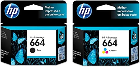 Kit Cartuchos de Tinta HP 664 | 2136 | 4536 Black + Color