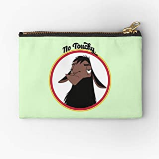 S Emperor Sad David Llama New Funny Pouch Zipper Accessories Pencil Cosmetic Makeup Office Supplies and Travel Pouch