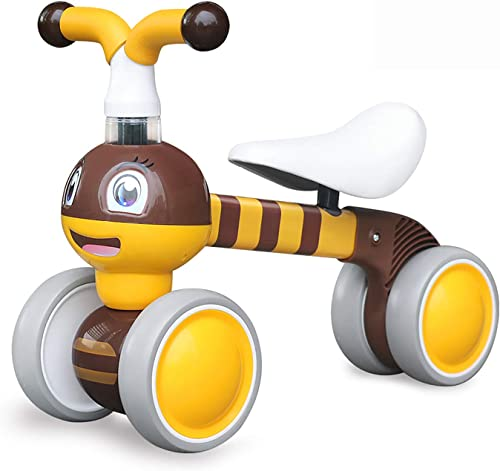 YGJT Baby Balance Bikes Indoors and Outdoors Bicycle Kids Toys Riding Toy for 1 Year Boys Girls 10-36 Months Baby's F...