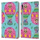Head Case Designs Licenciado Oficialmente Trolls World Tour Patrón de Globo aerostático A Whoa We Go Carcasa de Cuero Tipo Libro Compatible con Samsung Galaxy Tab S7 5G