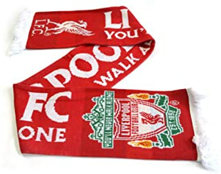 """Liverpool F.C. """"You'll Never Walk Alone"""" Official Scarf"""