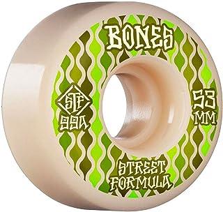Bones Skateboard Wheels 53mm Retros V2 Locks STF 99A White