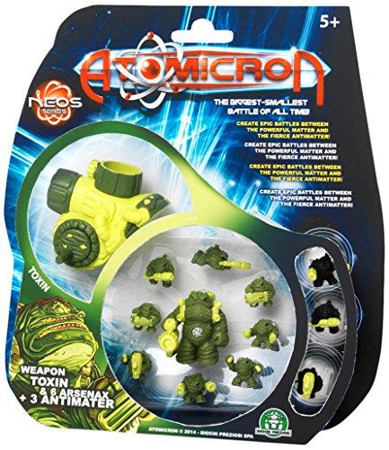 Giochi Preziosi 70183661 - Atomicron Deluxe Blister Xenon, Spielfiguren, 12-teilig, farblich sortiert, motiv variert