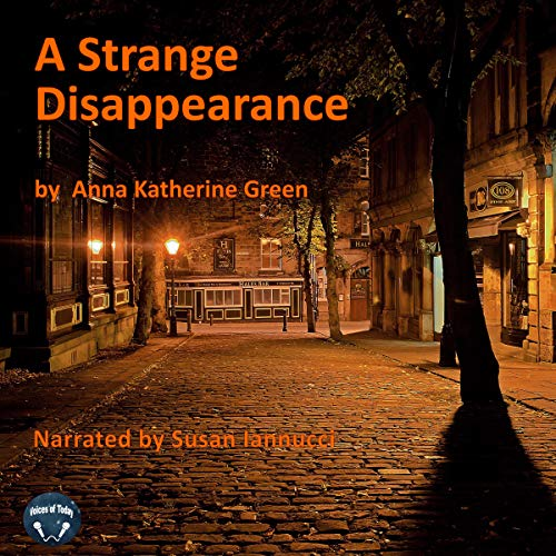 A Strange Disappearance audiobook cover art