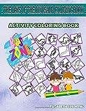 The Days Of The Dinosaur Coloring Book: 45 Image Elasmosaurus, Spinosaurus, Dracorex, Tyrannosaurus, Pachycephalosaurus, Indominusrex, Lambeosaurus, ... Image Quiz Words Activity And Coloring Book