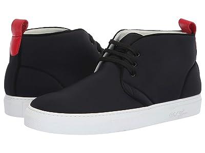 Del Toro High Top Chukka Sneaker (Black Neoprene) Men