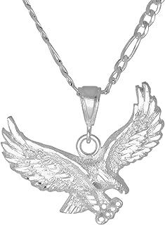 Best eagle pendant silver Reviews