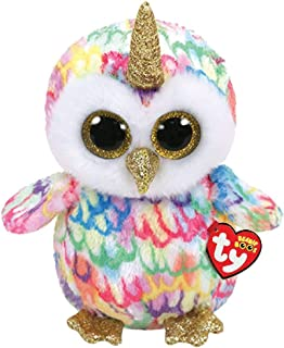 Ty Beanie 36446 Boo's-Enchanted The Owl 23 cm Multi-Coloured