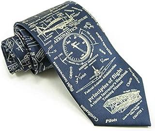 Museum Artifacts Principles of Flight Silk Tie Necktie Neckwear
