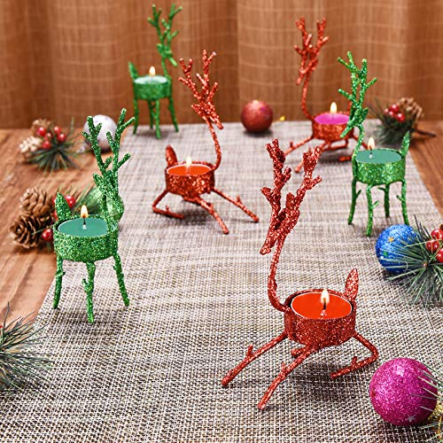 Christmas Reindeer Tea Light Holder
