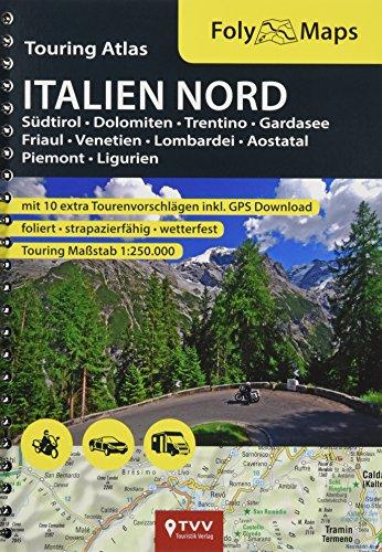 FolyMaps Touringatlas Italien Nord 1:250.000: FolyMap Atlas