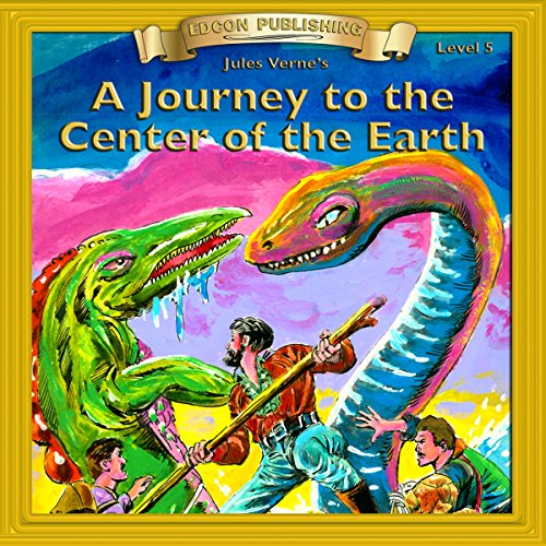 A Journey to the Center of the Earth audiobook cover art