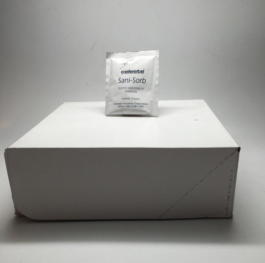 Celeste - Sani-Sorb Cash special price Powder Ranking TOP14 50 Absorbent Box Pack