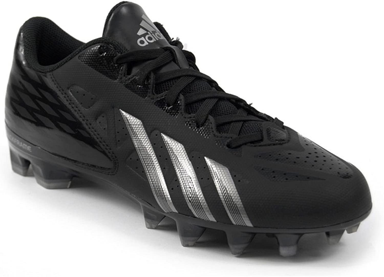 Adidas Men's Filthy Quick Low Football Cleat, schwarz   schwarz   Titanium, Größe 13