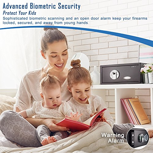 2. BARSKA Biometric Safe
