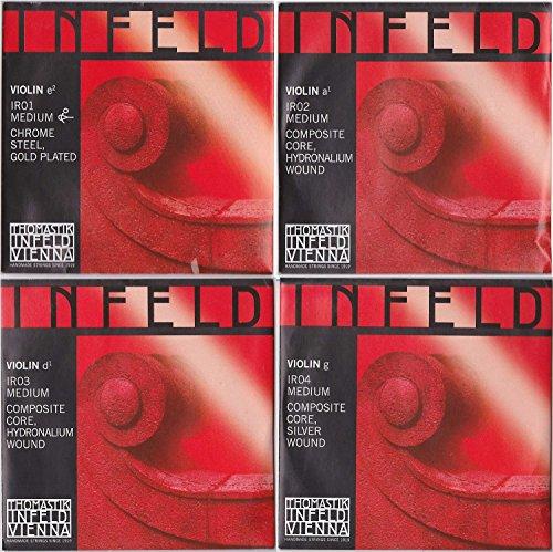 INFELDREDインフェルド・レッド4/4バイオリン弦セット