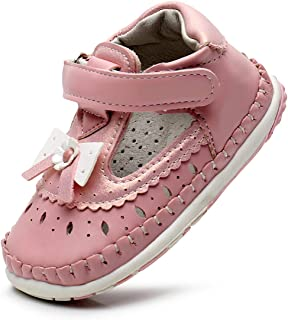 CiiaoLeoo Baby Girls Canvas Lace up Love Heart Shoes Soft Sole Non-Slip Infant Toddler Sneaker