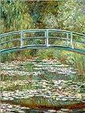 Poster 50 x 70 cm: Die japanische Brücke von Claude Monet