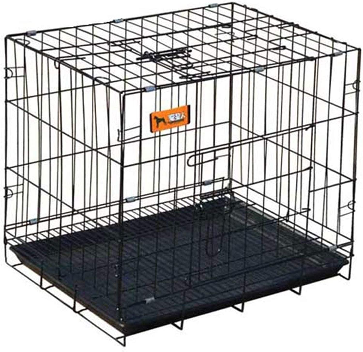 GBY Puppy heavy puppy play pen Dog cage simple indoor fence inssizetion wire cage multifunctional pet cage bold dog cage wire mesh cat cage Puppy fence (Size   130  60  70CM)