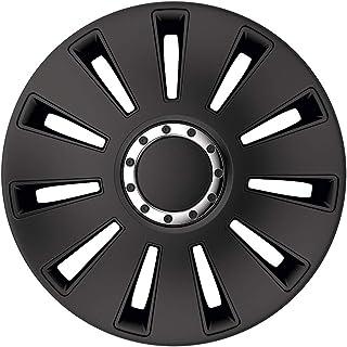 PETEX Radblende Radkappe Silverstone pro black 17 Zoll (Satz=4Stk.)