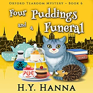 Four Puddings and a Funeral audiobook cover art