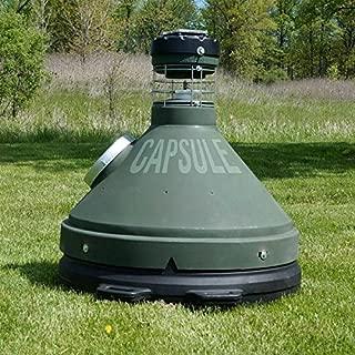 Capsule Feeders CAP-1000 1000 LB Hunting Game Feeder, Green