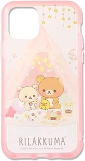 グルマンディーズ リラックマ IIIIfit Clear iPhone11 Pro(5.8インチ)対応ケース パーティ GRC-222A ピンク