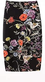 Women Knee Pencil Skirt Comfort Stretch Midi-Skirts