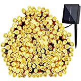 GDEALER Solar String Lights 72' 200 LED Solar White Solar Powered Waterproof Starry Fairy Outdoor String Lights Christmas Decoration Lights for Garden Path, Party, Bedroom Decoration (1)