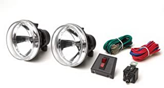 """RAMPAGE PRODUCTS 5083059 Universal 4"""" Round Clear Lens Fog Lamp Kit for Recovery Bumper, Front/Rear"""