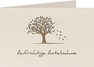 myZirbe Träkort – uppriktig konferens – 100 % handgjorda i Österrike – vykort, presentkort, gratulationskort, folkkort, in...