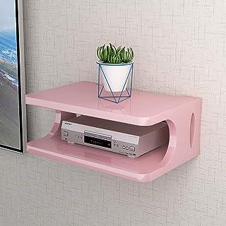 Los estantes flotantes sólidos en forma de U de madera de almacenamiento de DVD Pantalla de TV soporte de suspensión del e...