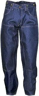 Prison Blue Double Knee Rigid Work Jeans Blue