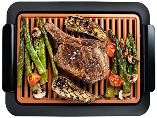 Gotham Steel 1618-A Smokeless Electric Grill, Portable and Nonstick As Seen On TV (Original)