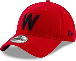 4bddd79486b New Era Washington Senators MLB 9Twenty Cooperstown Logo Stitcher  Adjustable Hat