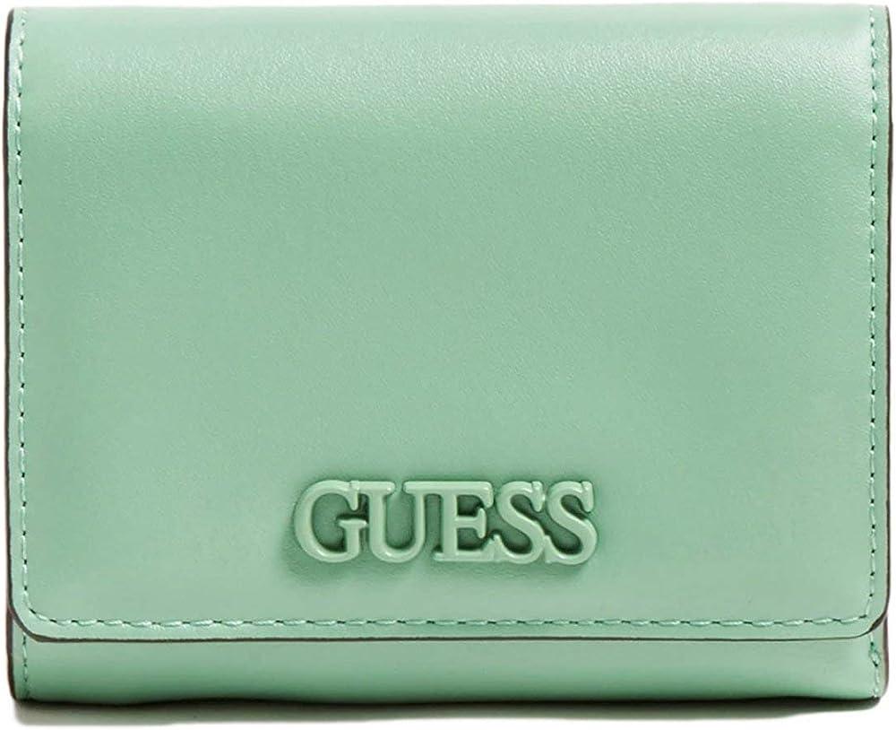 Guess portafoglio da donna portaca carte di credito in pelle SWVG81-09430-GRE