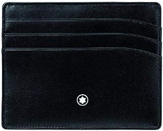 Montblanc MB106653 Porte Carte de crédit à 6 Compartiments Noir
