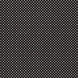 babrause® Baumwollstoff Mini Sterne Schwarz Webware