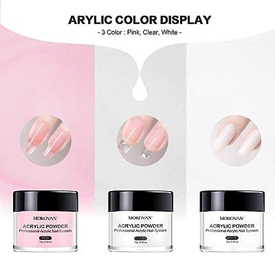 Morovan Acrylic Nail Kit Acrylic Powder